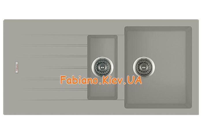Кухонная мойка Fabiano Classic 100x50x15 Beton