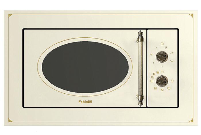 Микроволновая печь встраиваемая Fabiano FBMR 46 Ivory