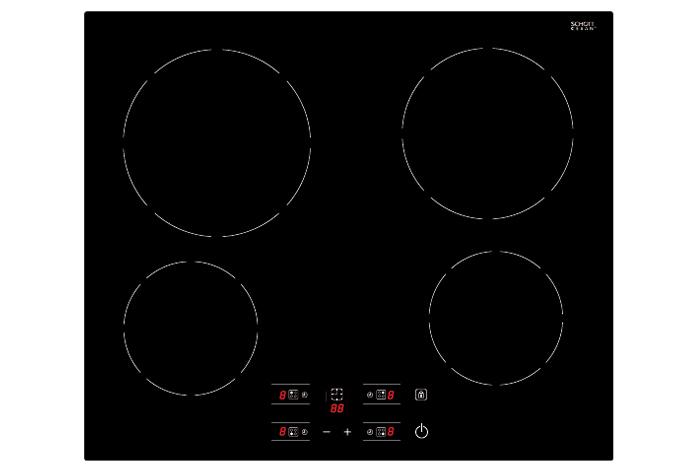 Электрическая варочная поверхность Fabiano FHE 1844 VTC2 Black