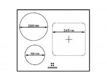 Индукционная варочная поверхность Fabiano FHI 2933 VTC