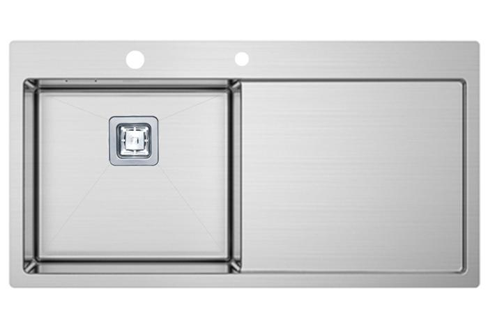 Кухонная мойка Fabiano TOP 89 Left (890x510) 1.2 мм