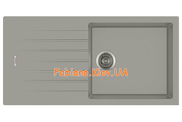 Кухонная мойка Fabiano Classic 100x50 Beton