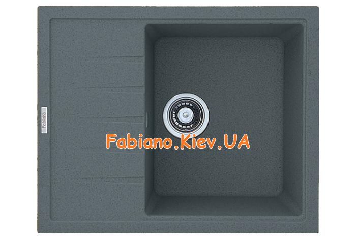 Кухонная мойка Fabiano Classic 62x50 Titanium