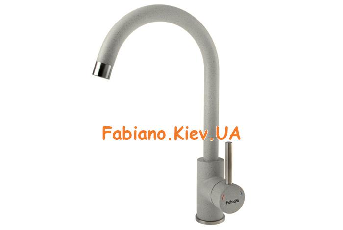 Смеситель кухонный Fabiano FKM-41 S/Steel Beton
