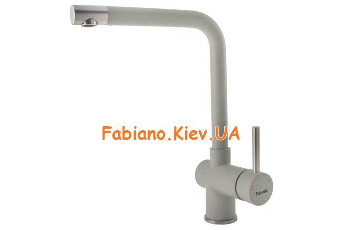 Смеситель кухонный Fabiano FKM-45 S/S Beton