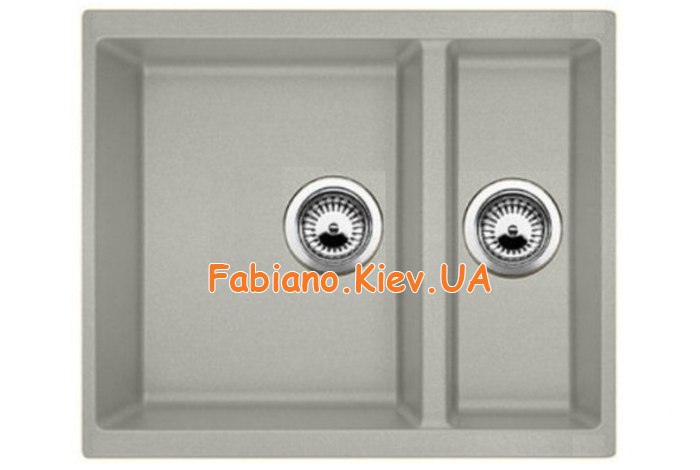 Кухонная мойка Fabiano Quadro 56x46x15 Beton