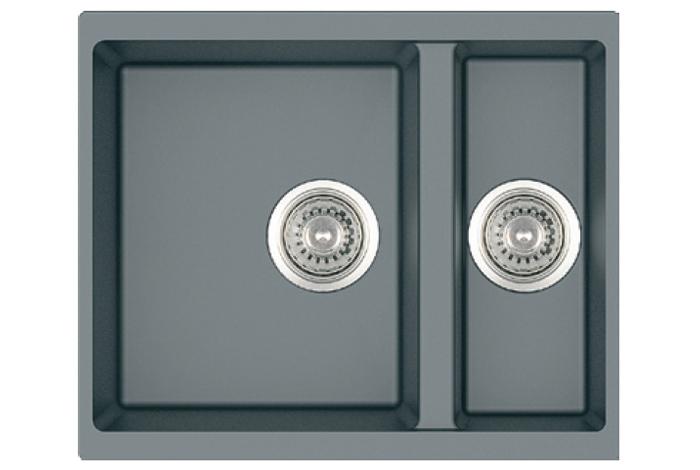 Кухонная мойка Fabiano Quadro 56x46x15 Titanium