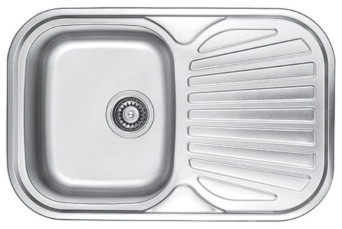 Кухонная мойка Fabiano 74x48 Satin