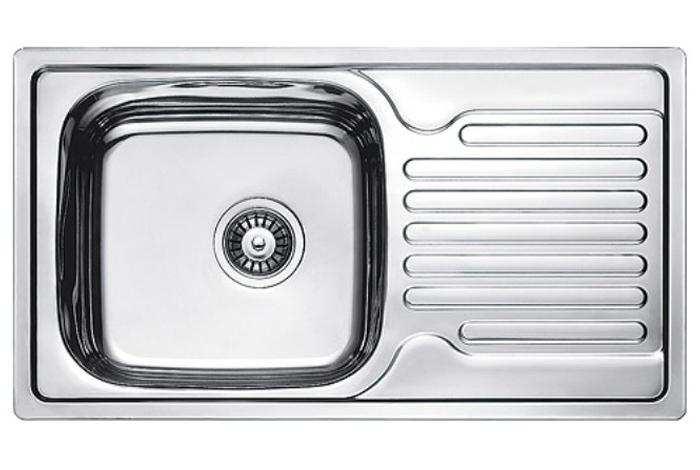 Кухонная мойка Fabiano 78x43 Satin