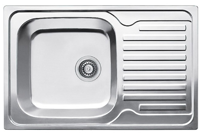 Кухонная мойка Fabiano 78x50 Satin