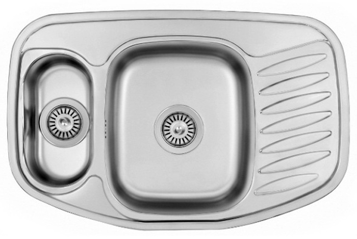 Кухонная мойка Fabiano 78x51x15 Microdecor