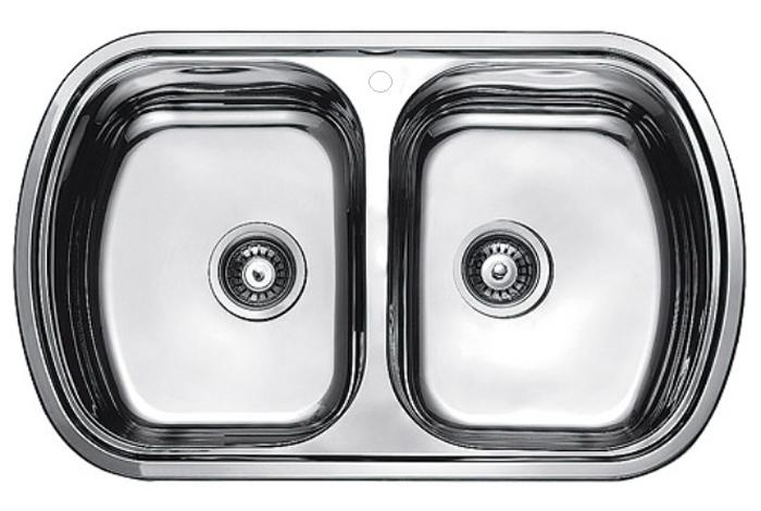 Кухонная мойка Fabiano 80x49x2 Microdecor