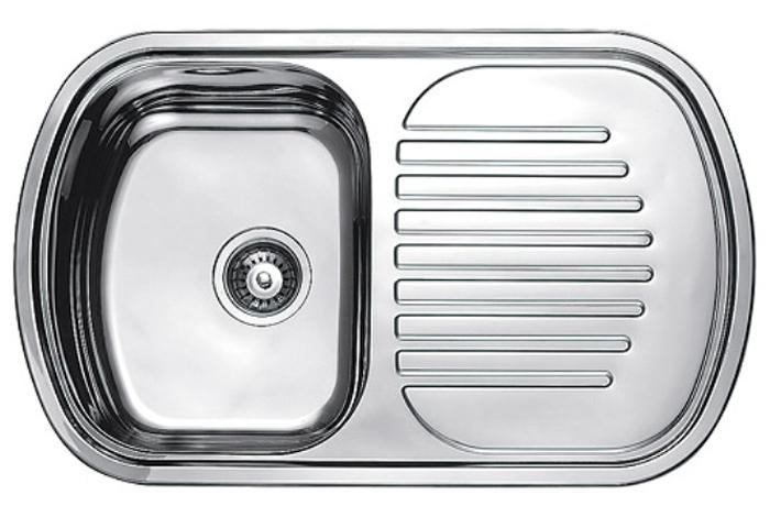 Кухонная мойка Fabiano 80x49 Microdecor