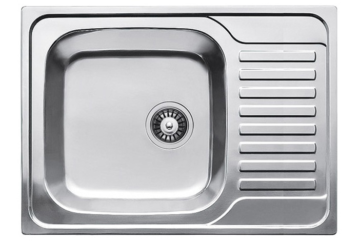 Кухонная мойка Fabiano 700x500 сатин (0,80)