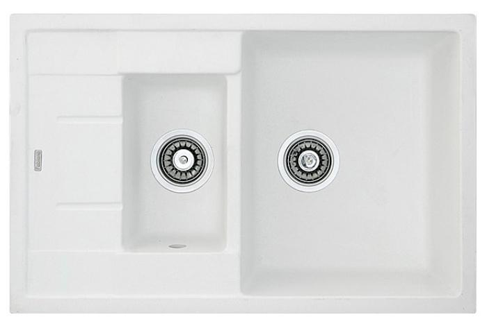 Кухонная мойка Fabiano Classic 78x50x15 Alpine White
