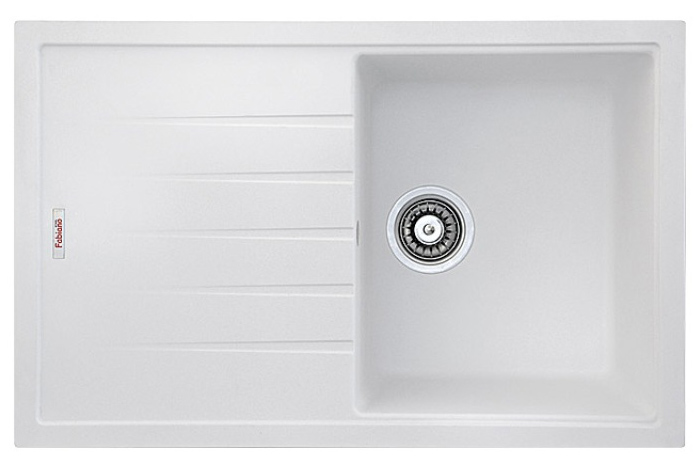 Кухонная мойка Fabiano Classic 78x50 Alpine White