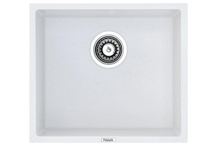 Кухонная мойка Fabiano Quadro 45x40 Alpine White