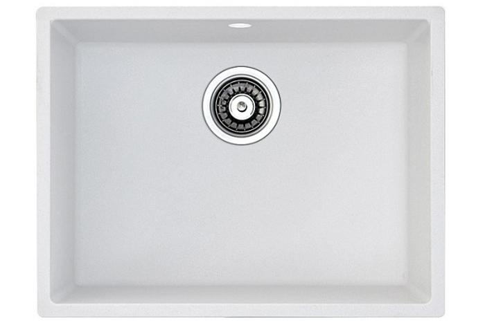 Кухонная мойка Fabiano Quadro 53x46 Alpine White