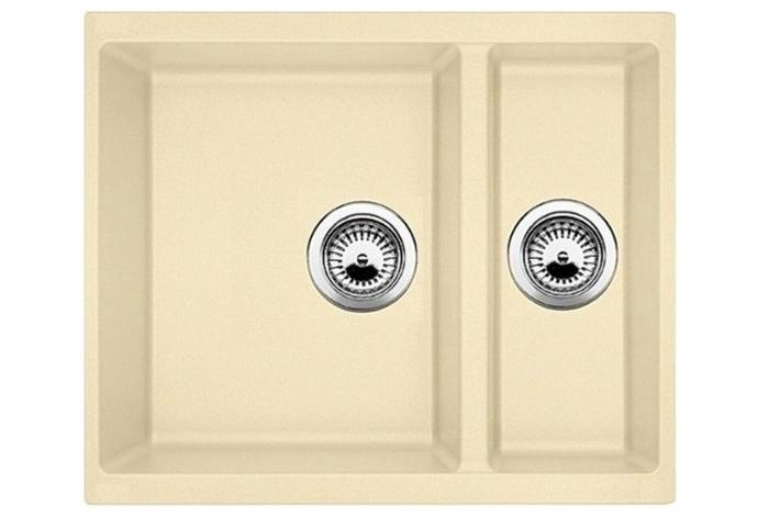 Кухонная мойка Fabiano Quadro 56x46x15 Cream