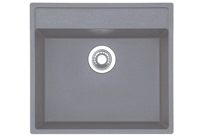 Кухонная мойка Fabiano Quadro 56x51 Titanium