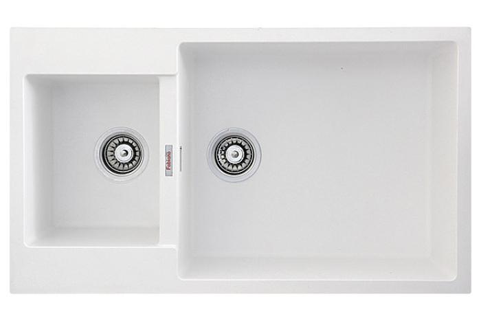 Кухонная мойка Fabiano Quadro 86x50x15 Alpine White