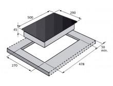 Газовая варочная поверхность Fabiano FHG 13-2 VGH Inox