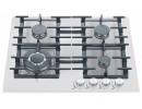 Газовая варочная поверхность Fabiano FHG 14-44 VGH-T White Glass