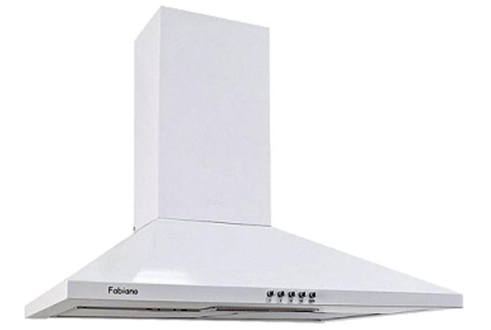 Вытяжка кухонная Fabiano Base 50 White