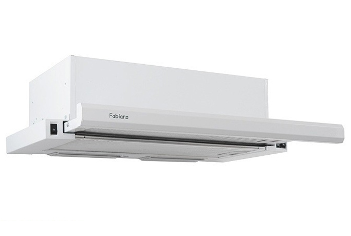 Вытяжка кухонная Fabiano Slim 60 Lux White