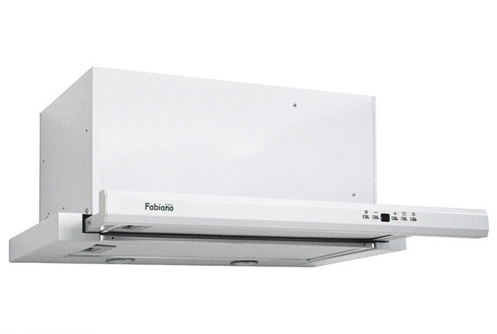 Вытяжка кухонная Fabiano Smart 60 White